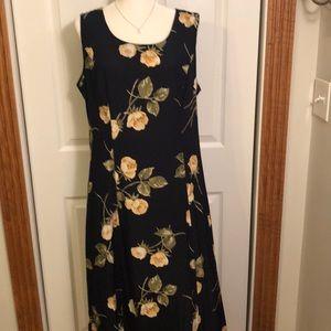 Dress Barn Long Sleeveless Dress